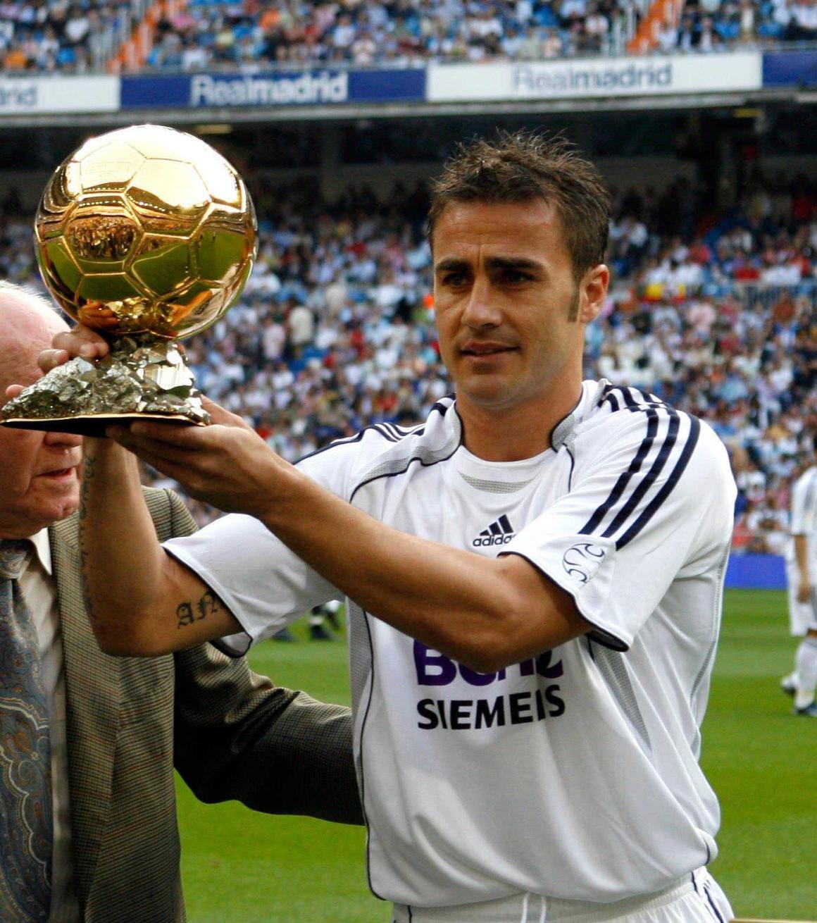 Although his stay here was short, he did help us win 2 La Liga's. Happy Birthday to Italian Legend, Fabio Cannavaro.: realmadrid
