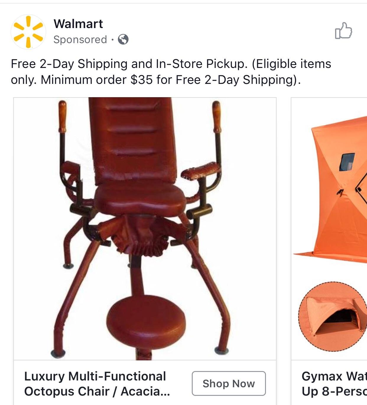 Best Sex Chair I Didn T Know Walmart Was In The Sex Furniture Business Listed