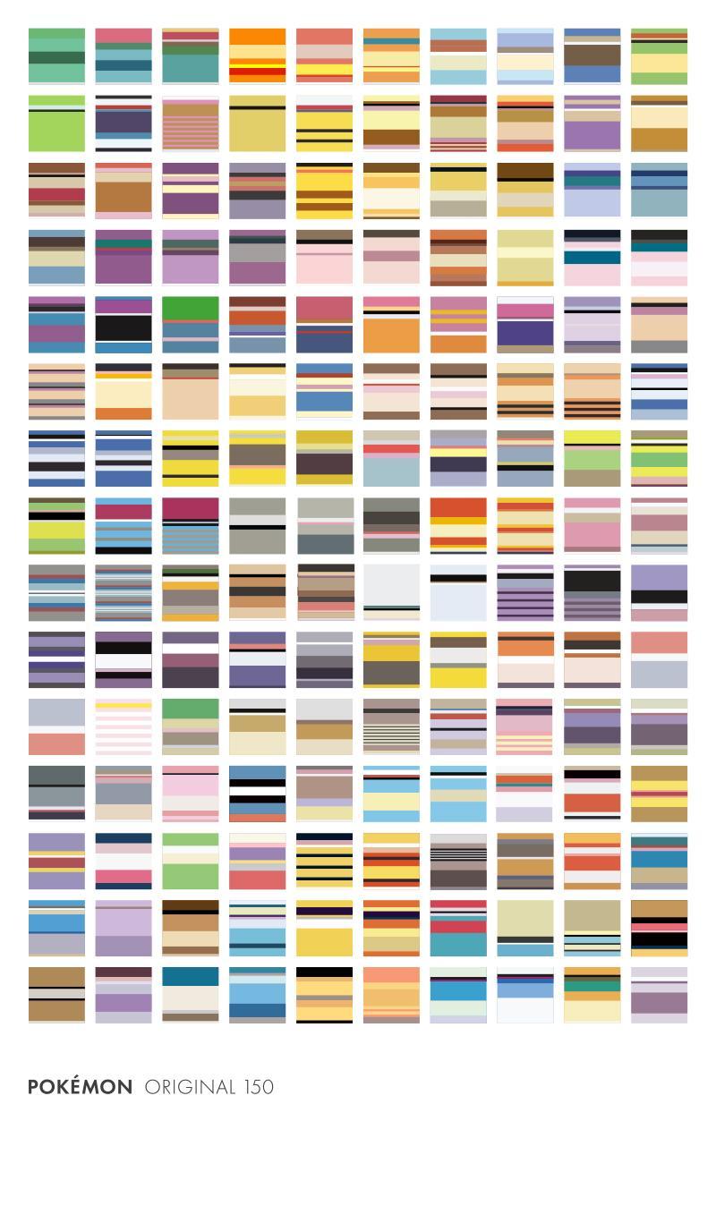 minimalist poster of all