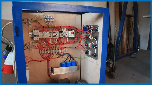 small resolution of homemade phase converter wiring diagram