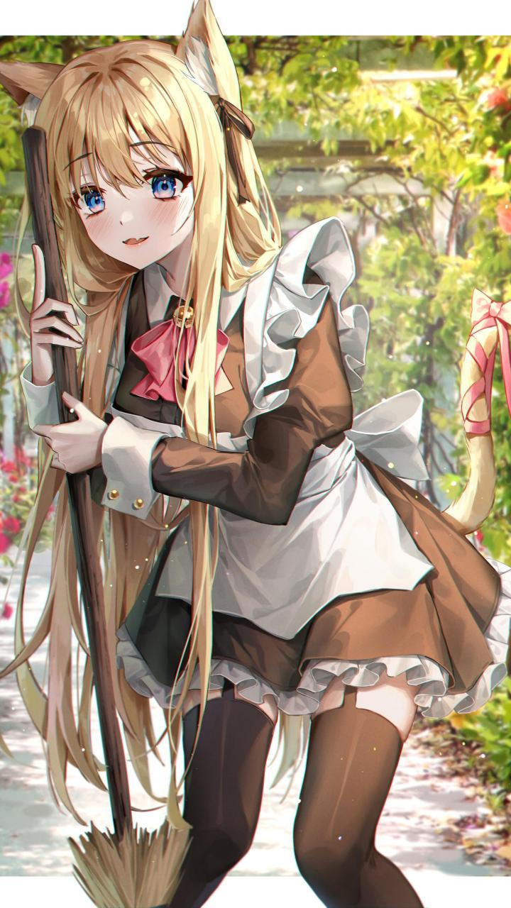 Neko maid [Original] (2250×4000)
