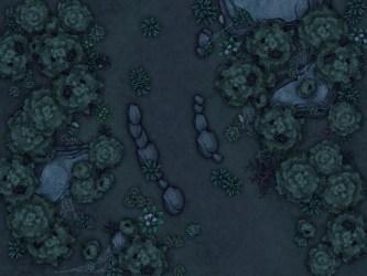 Dark forest encounter : battlemaps