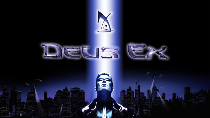 My attempt at an HD remake of the Deus Ex wallpaper [5120×2880]