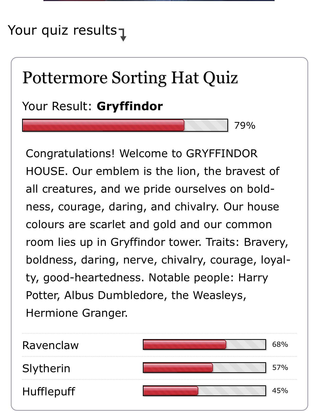 Pottermore All Questions House Quiz : pottermore, questions, house, Post/Pottermore, Sorting, Results, Harrypotter