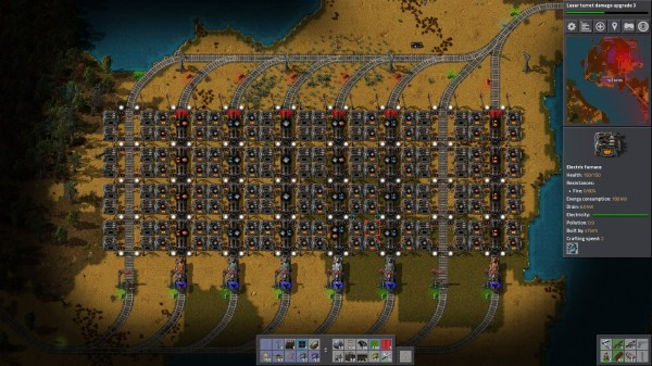 Factorio Steel Smelt On Ore - Year of Clean Water