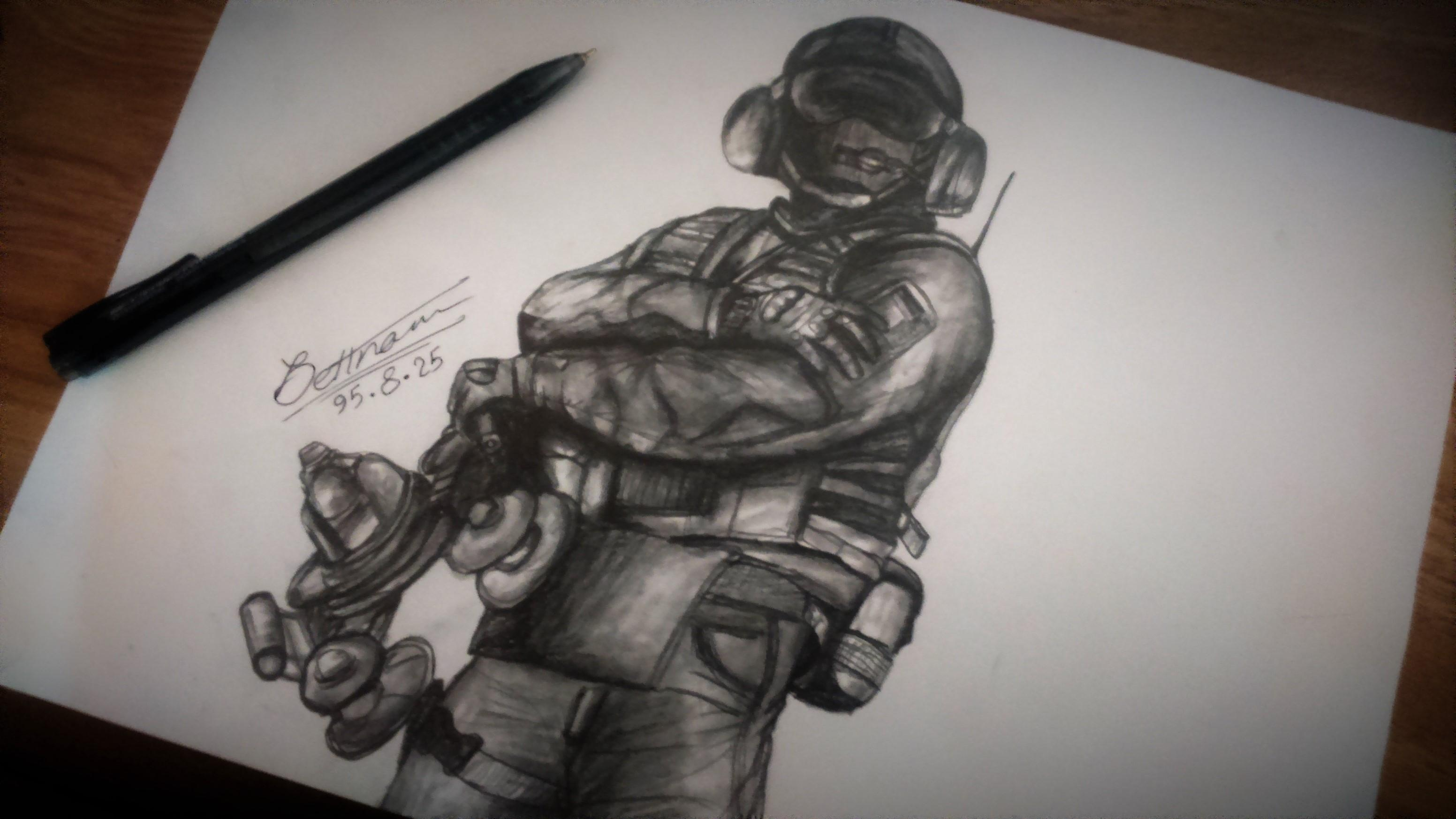 my drawing from jager
