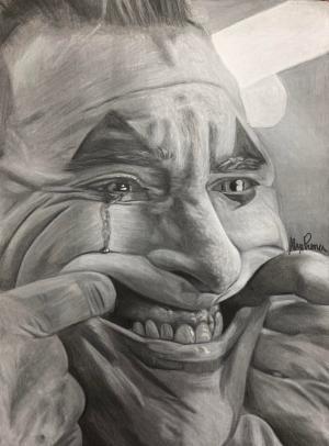 drawing joker drawings charcoal sketches illustrations badass mallory realistic