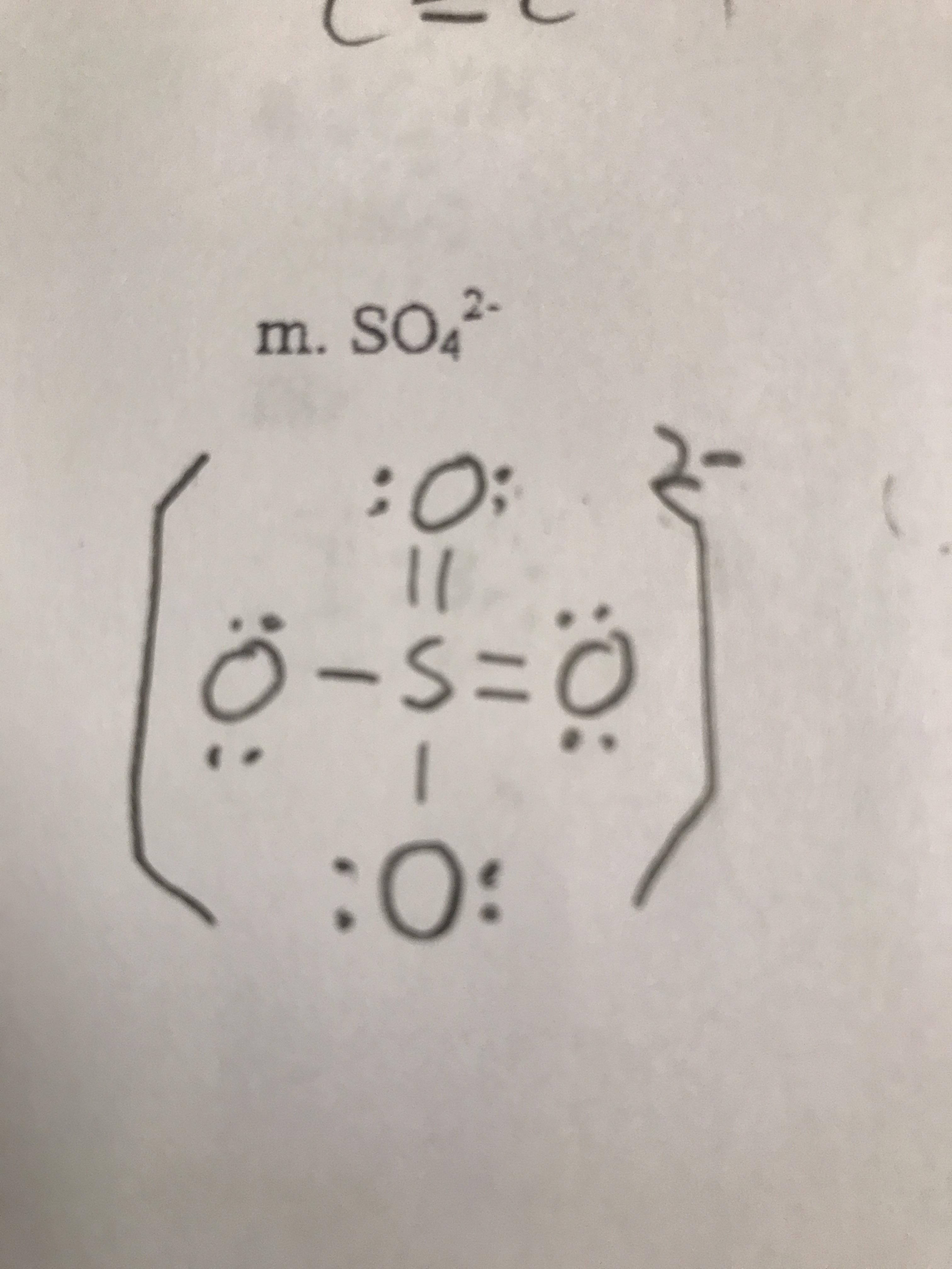 So4 2 Lewis Structure : lewis, structure, Lewis, Structure, SO4(2-), Notinteresting