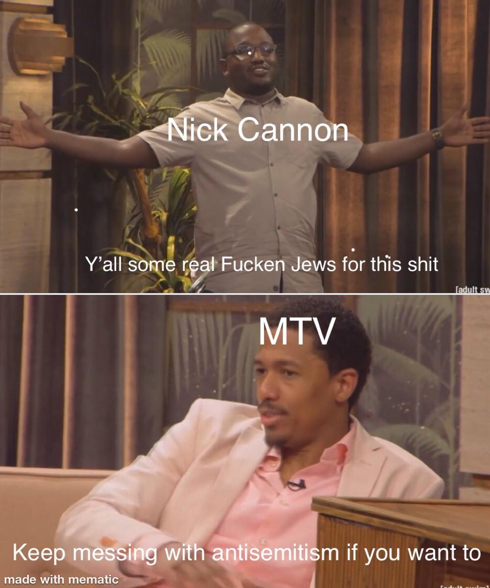 Nick Cannon Meme : cannon, Thank, Cannon, Making, Possible, Ericandre