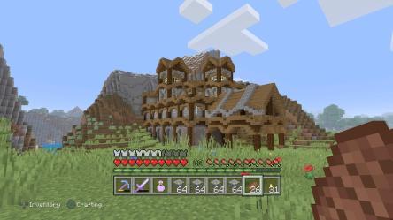 My Town Hall building : Minecraft
