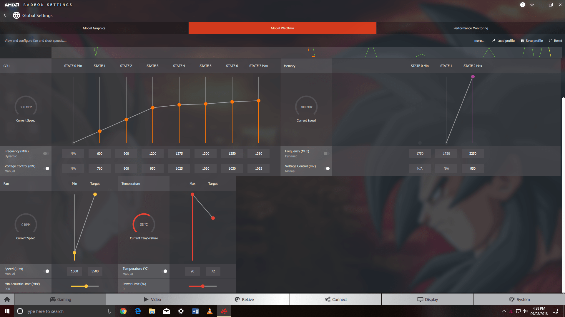 xfx rx 580 undervolting