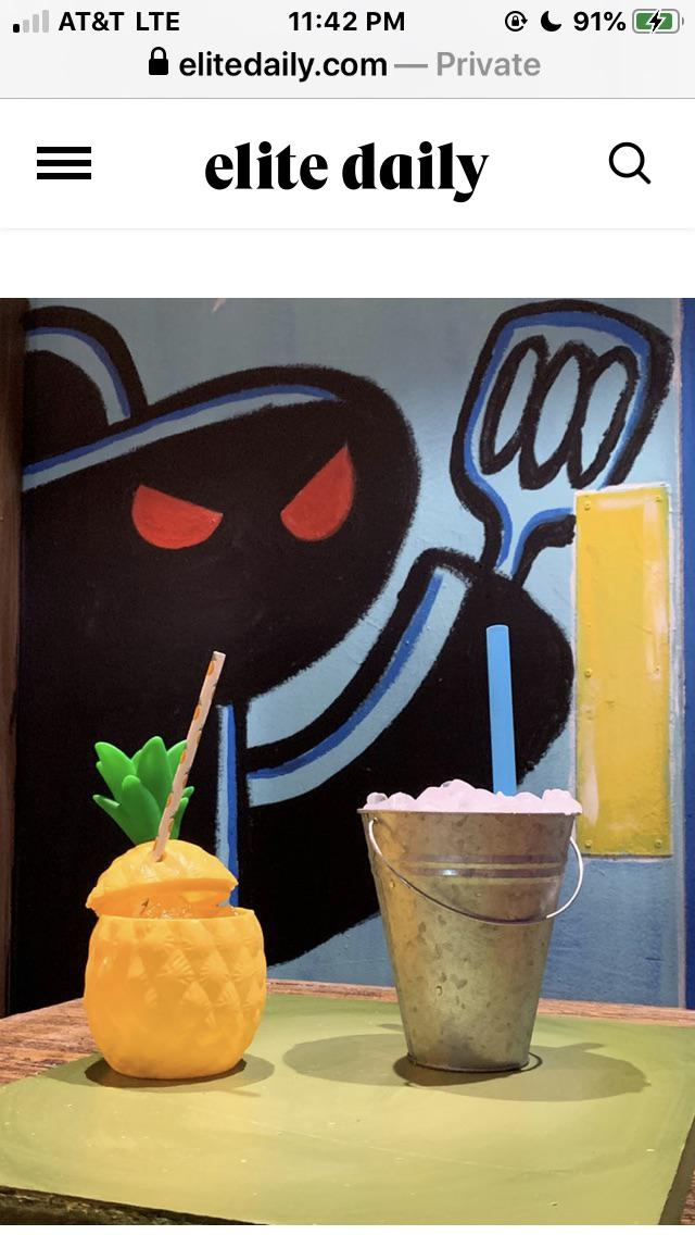 Spongebob Pop Up : spongebob, THERE'S, CHICAGO, THATS, SPONGEBOB, THEMED, RIGHT, NOW!!!, Https://www.elitedaily.com/p/this-spongebob-squarepants-pop-up-bar-in-chicago-will-transport-you-to-bikini-bottom-18024506), BikiniBottomTwitter