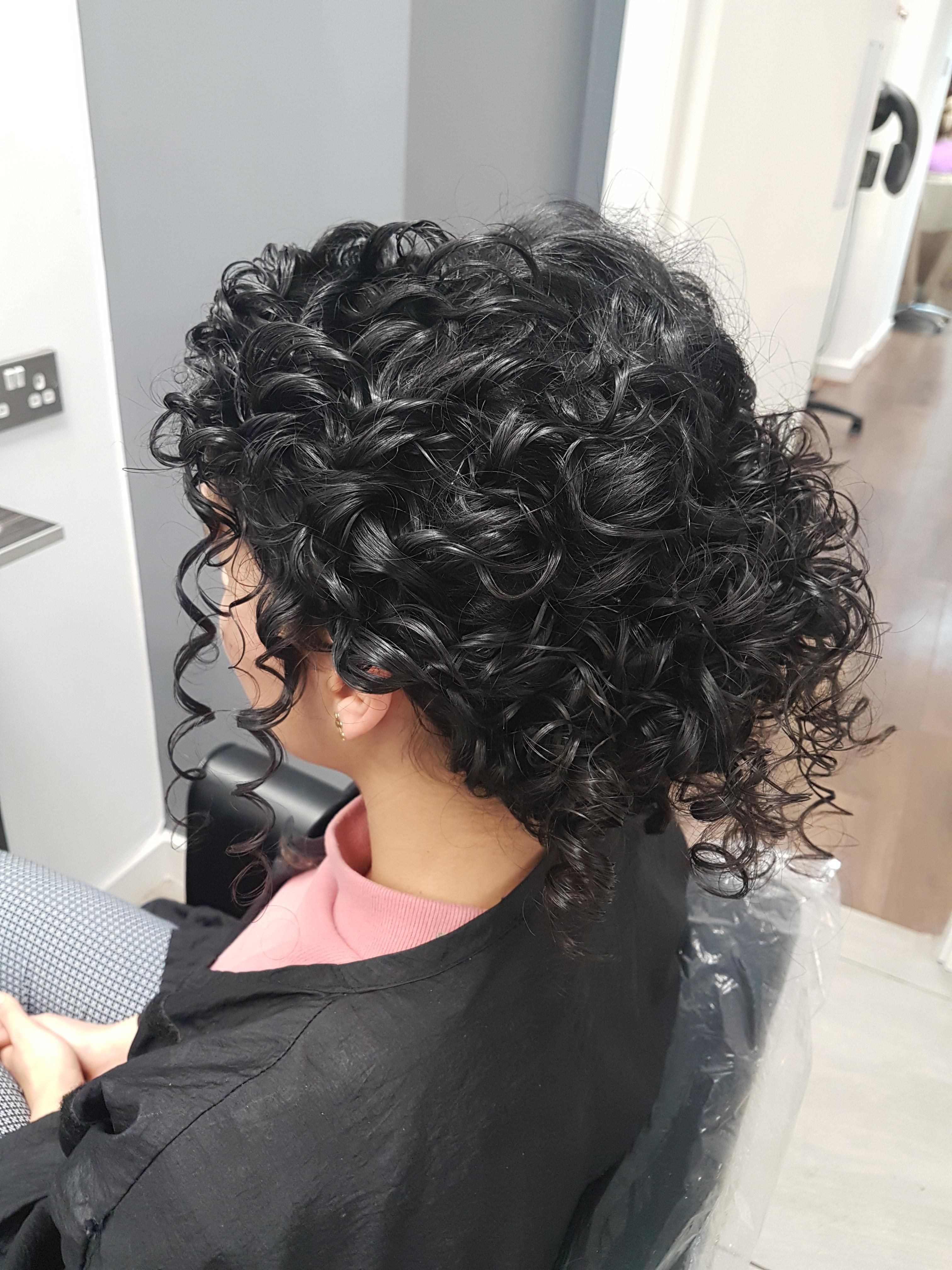 Trying Out A Natural Curly Hair Style For My Wedding Curlyhair