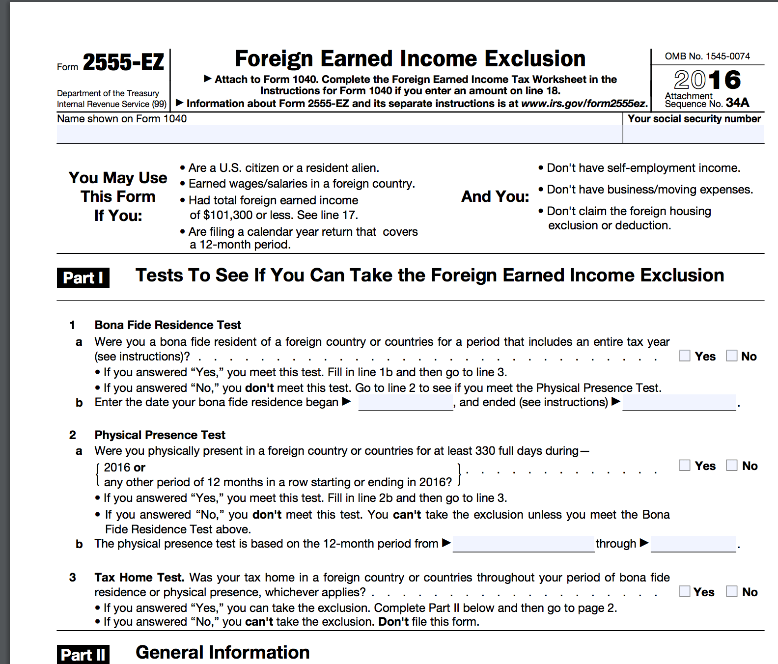 Does The Irs Provide Social Security Eligibility Worksheets