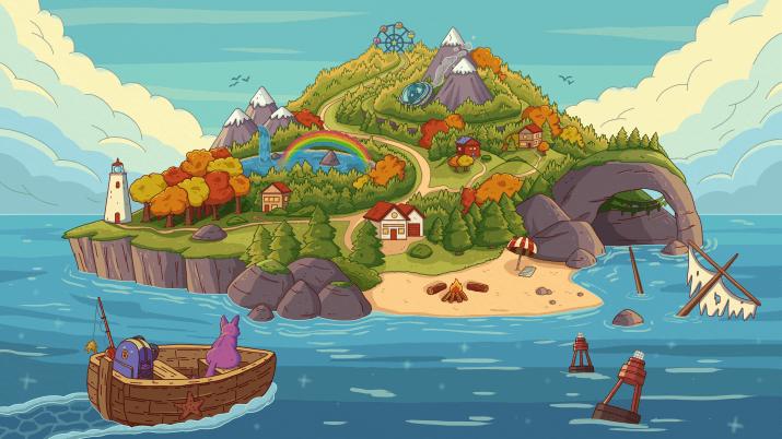 Adventure island by purrple cat [3840×2160]