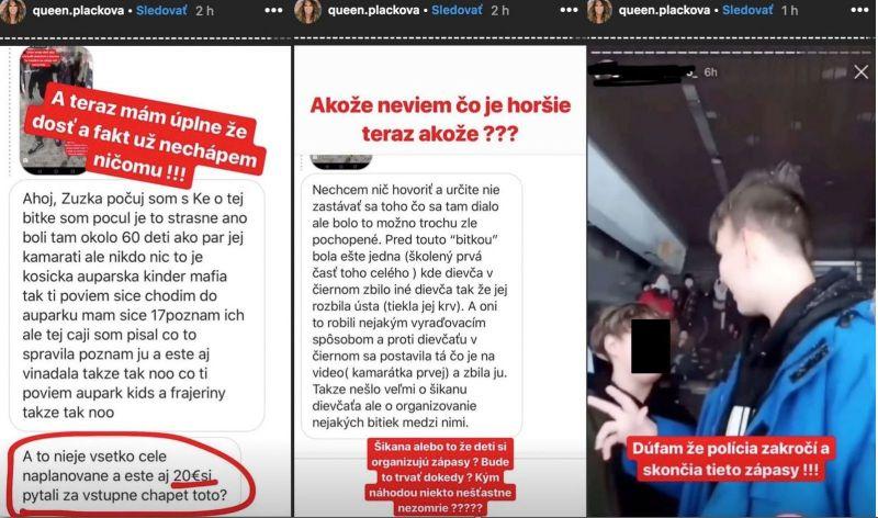 Brutálne video: Košičania organizujú krvavé bitky 15-ročných študentiek za 20 €, reagujú Plačková aj Aless
