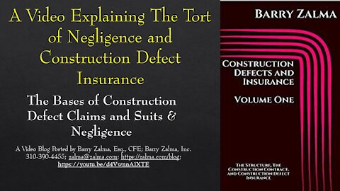 A video that explains the damage for negligence and design defects