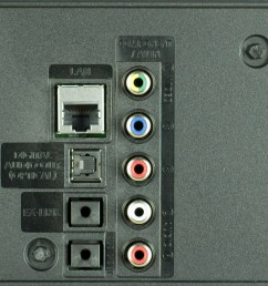samsung ju6400 rear inputs picture [ 3840 x 2161 Pixel ]