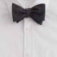 Wool bow tie :   J.Crew