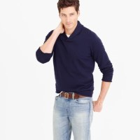 Cotton-Cashmere Shawl-Collar Sweater : Men's Sweaters | J.Crew