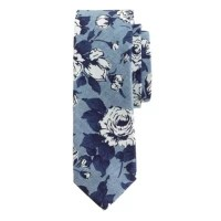 Cotton tie in Liberty chambray floral : ties | J.Crew