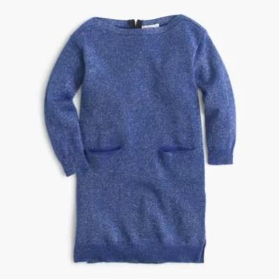 Girls Cardigan Sweater Dress