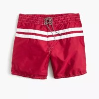 Birdwell For J.Crew Board Short In Stripe : Men's Swim | J ...