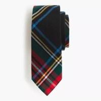 Boys' flannel tie in Stewart plaid : | J.Crew