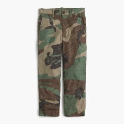 Boys' Camo Pant In Slim Fit Pants .crew