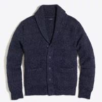 Cotton shawl-collar cardigan sweater : FactoryMen Cotton ...