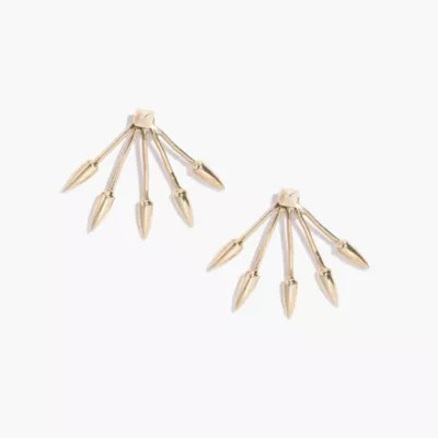 Pamela Love Five Spike Stud Earrings : earrings