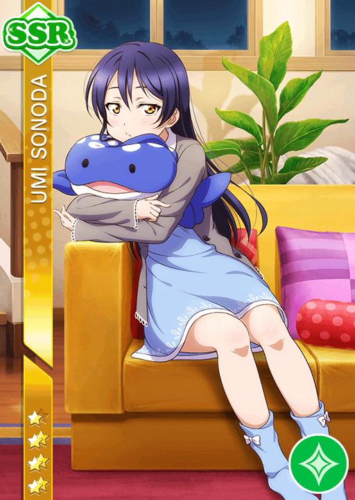 School Idol Tomodachi - Cards Album: #1085 Sonoda Umi SSR