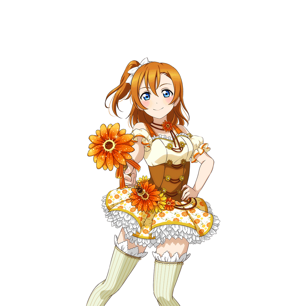 School Idol Tomodachi Cards Album 261 Kousaka Honoka SR