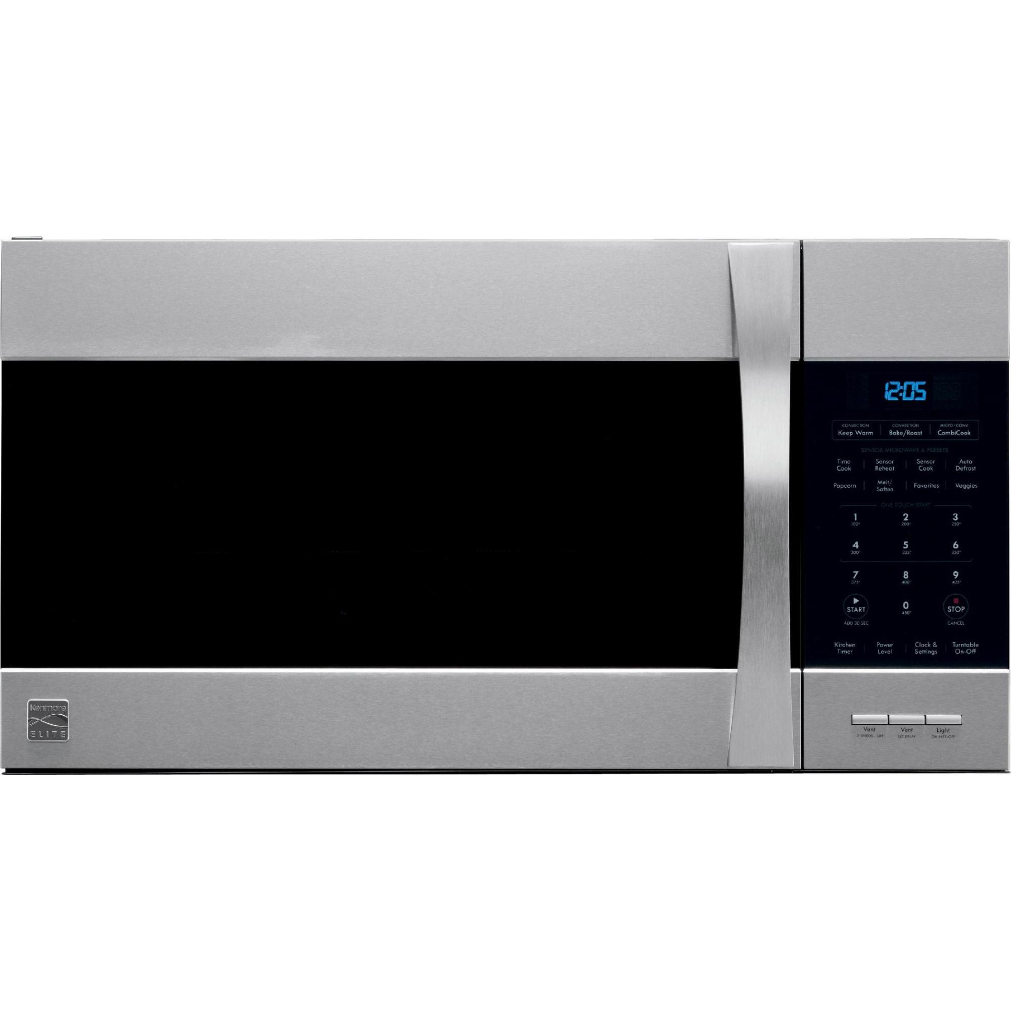KenmoreElite model 79080363310 microwavehood bo