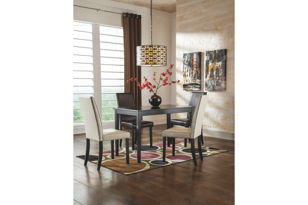 Signature Design by Ashley  D25025  Kimonte Dining Room Table  Sears Outlet