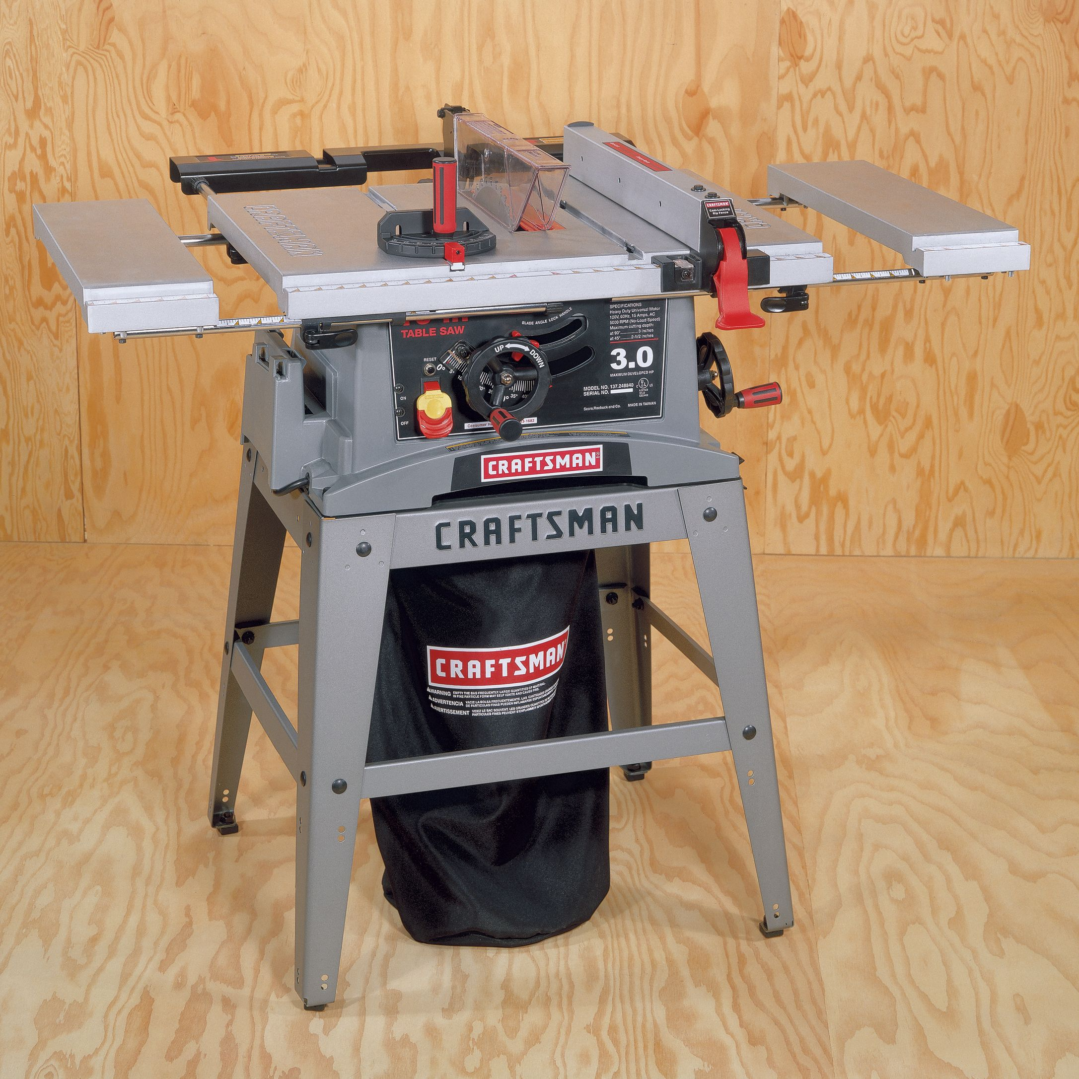 Craftsman 3hp Table Saw