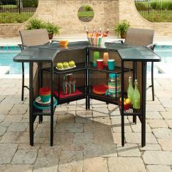 Garden Oasis Patio Chairs Hanging Chair Bed Ss I 139nbset Harrison 5 Pc Outdoor Bar Set Limited Availability Sears Outlet