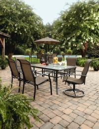 Garden Oasis Harrison 5 Piece Bar Set - Outdoor Living ...