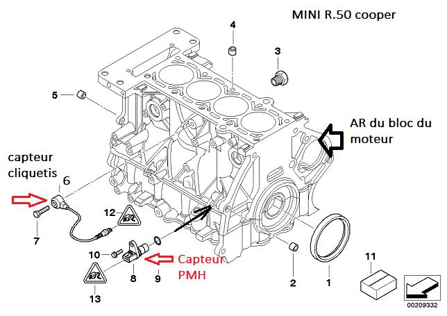 [ Mini cooper R50 1.6 115 W10 an 2003 ] Plus d'allumage