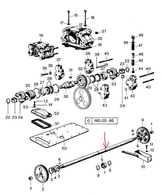 Pompe hydraulique qui claque en relevage arrière en SAME