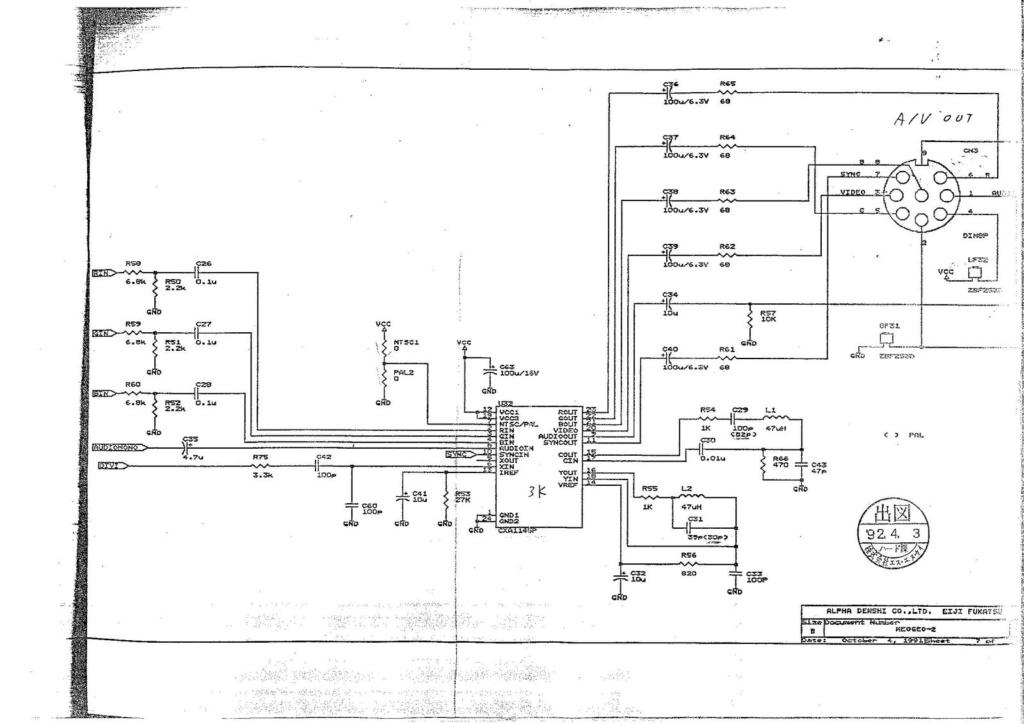 scart rgb wiring diagram