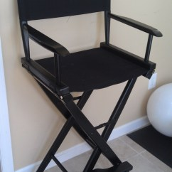 Directors Chair Bar Stool Rent Chairs For Event Pier One Black Director S
