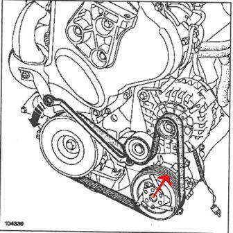 [ Renault Megane 1.9 dci 120 an 2003 ] casse courroie