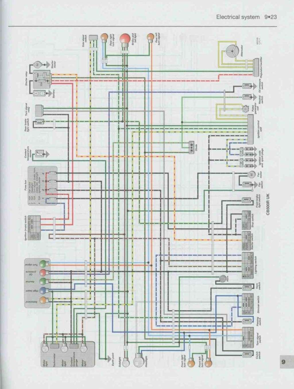 hight resolution of wiring diagrams honda 10