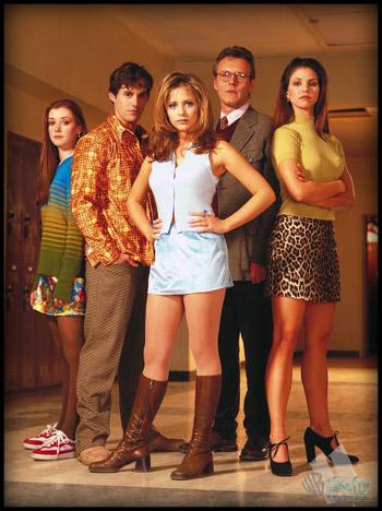 Buffy, Tueuse De Vampires Distribution : buffy,, tueuse, vampires, distribution, Buffy, Contre, Vampires