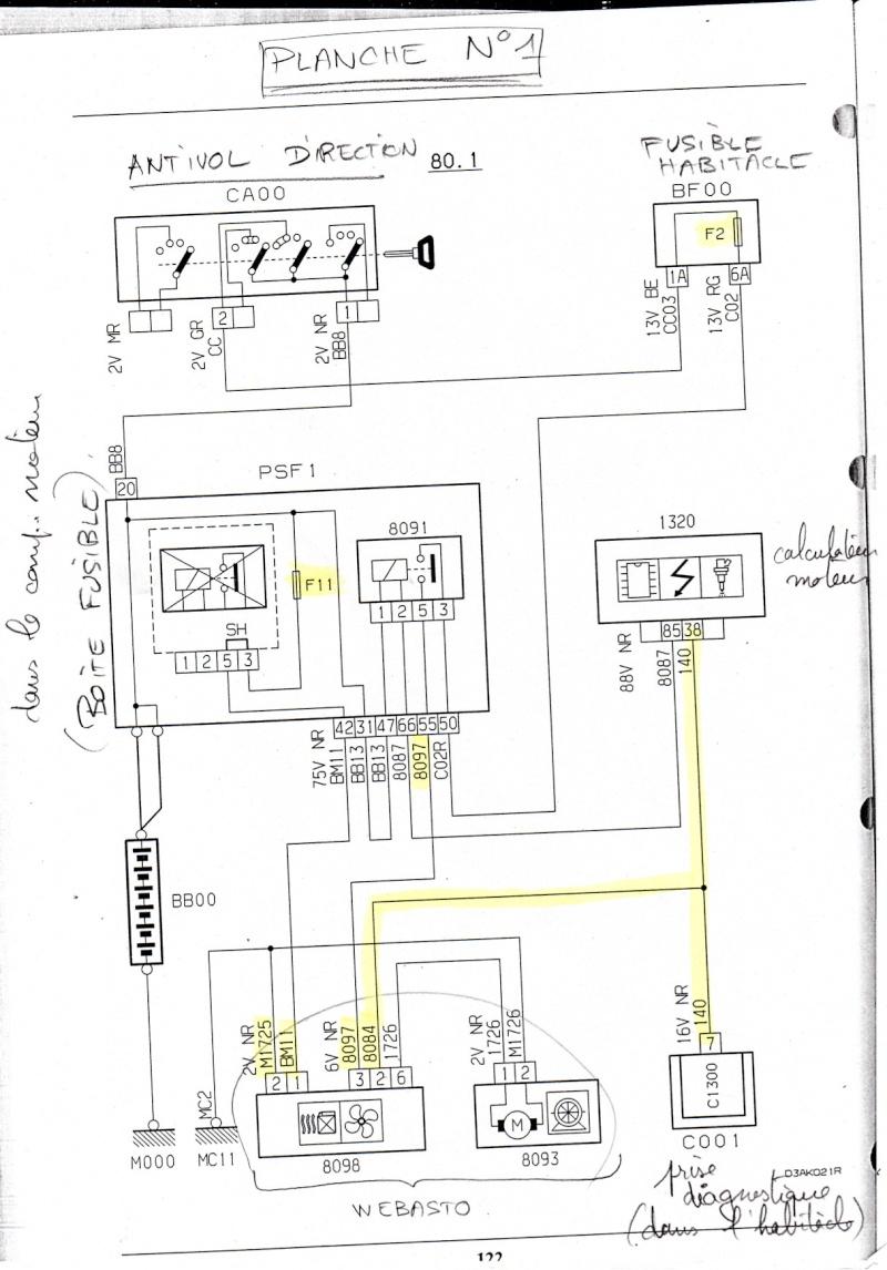 [Evasion HDI exclusive dec 1999] problème Webasto (résolu)