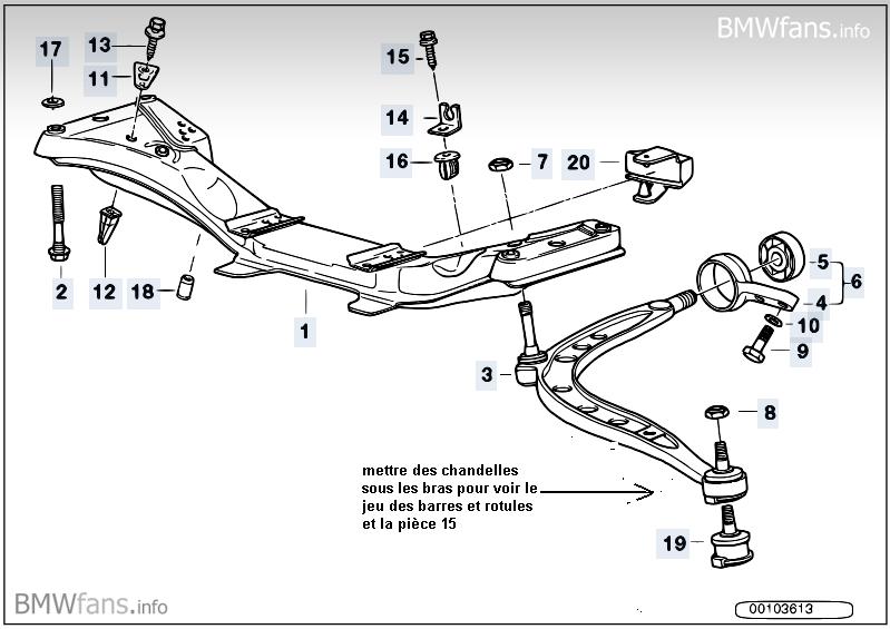 [ BMW E34 525 Tds Touring an 1994 ] Jeu boitier de