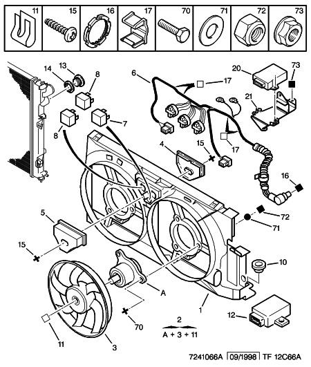 [ Citroen Berlingo 1.9 d an 2000 ] température moteur élevée