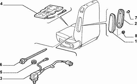 [ FIAT punto 2 1.3 JTD an 2005 ] Voyants AirBag allumé