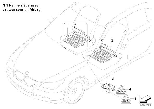 [ bmw e60 530d an 2004 ] voyants ceinture et airbag